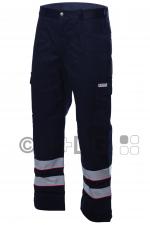 Malteser-Damen-Einsatzhose, dunkelblau, 2 Reflex, Membrane