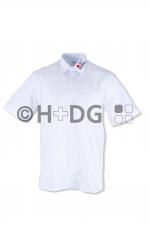 BRK-Bereitschaften-Olymp-Hemd 'Luxor', weiß, 1/2-Arm, Kent-Kragen