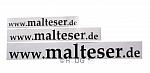 Malteser-Beschriftung 'www.malteser.de'