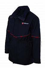 Malteser-Wetterschutzjacke, dunkelblau, mit oder ohne Rückenstick