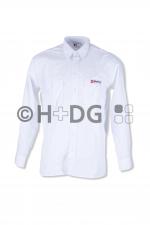 Malteser-Diensthemd, weiß, 1/1-Arm oder 1/2-Arm