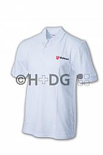 Malteser Poloshirt, weiß