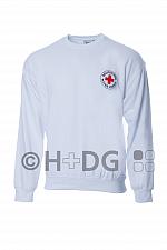 BRK-Rettungsdienst-Sweatshirt, weiß
