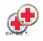 Rot Kreuz-Barett-Abzeichen