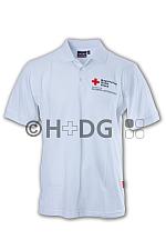 WuS-Poloshirt, weiß, Mischgewebe BRK-Kompaktlogodruck