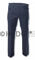 Damen-Hose, grau meliert (5-Pocket-Jeans)