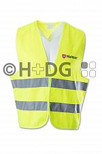 Malteser SSD-Überwurfweste, leuchtgelb, für Kinder und Jugendliche