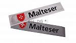 Malteser-Rückenschilder mit Wort-Bild-Marke