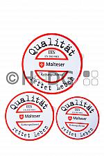 Malteser-QM-Aufkleber für RTW und KTW