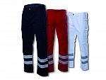 Damen-Einsatzhose (325 g/m²) in marineblau, weiß oder rot