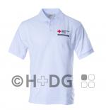 BRK-Poloshirt, weiß BRK-Bereitschaften