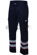 Malteser-Damen-Einsatzhose, dunkelblau, 2 Reflex