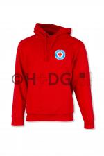 BRK-WW-Kapuzen-Sweatshirt, rot