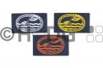 Deutsches Rettungsschwimmer-Abzeichen in bronze, silber oder gold, VPE = 50 St.