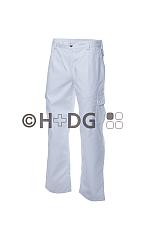 Damen-Einsatzhose weiß (300 g/m²) mit Handytasche