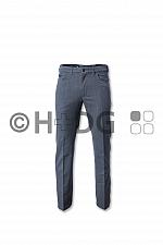 Herren-Hose, grau meliert Five-Pocket-Jeans NEU 2018