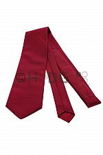 RK-Krawatte, dunkelrot strukturiert mit 'Roten Kreuzen' normal- oder extralang