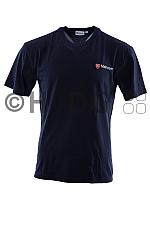 Malteser SSD-Damen-/Mädchen-T-Shirt dunkelblau