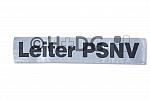 Rückenschild Leiter PSNV
