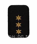 DRK-Dienststellungsabzeichen, 3 ST gold, + o. PA