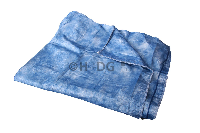 Einmaldecke, blau, Softpapier ca. 190 g