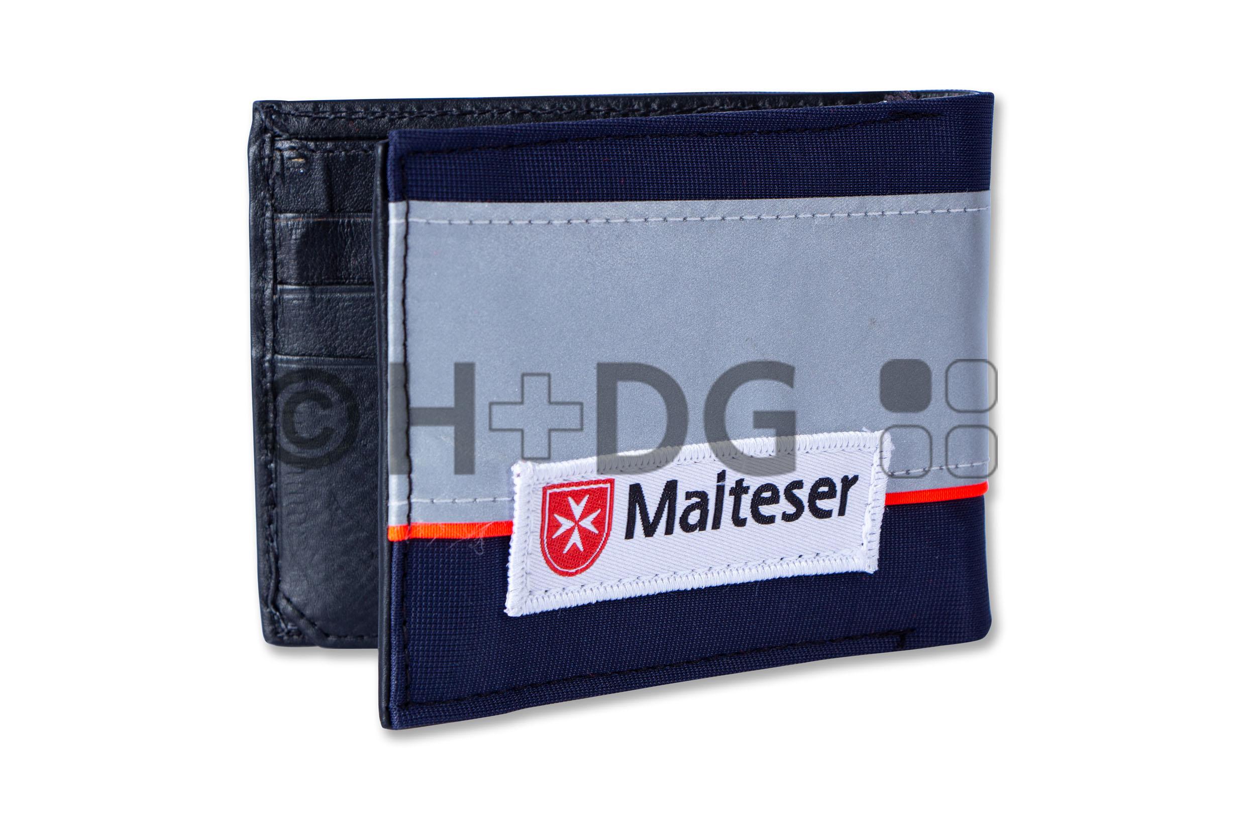 Beispiel Malteser-Herren-Geldbörse