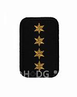 DRK-Dienststellungsabzeichen, 4 ST gold + o. PA