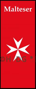 MHD-Hochformatflagge