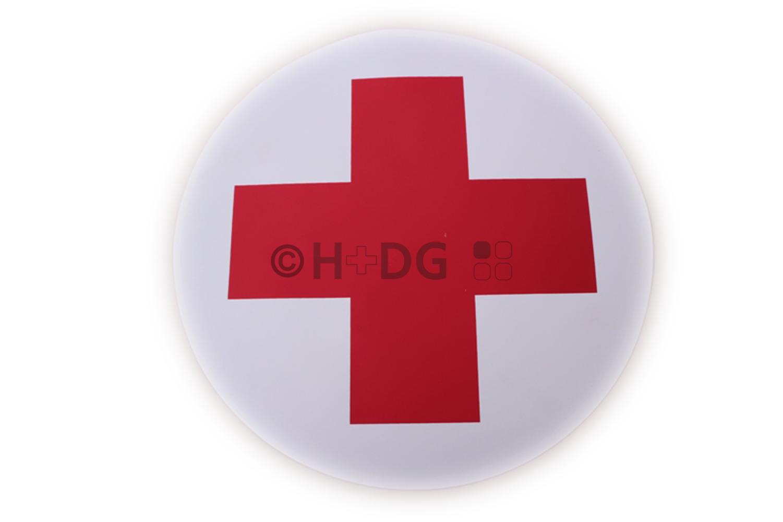 Magnetschild (für Fahrzeuge etc.),<br />&#8222;Rotes Kreuz auf Weiß&#8220; | H+DG | {Rotes kreuz symbol<br /> 72}&#8216; title=